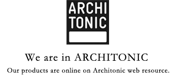 we are in architonic